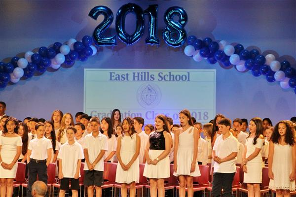 East Hills School Moving Up Day 2018