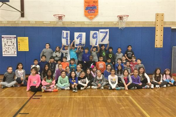 Jump Rope for Heart Challenge at East Hills School