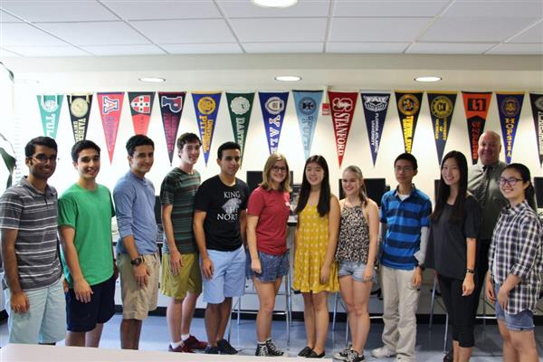 Roslyn High School National Merit Scholarship Semifinalists