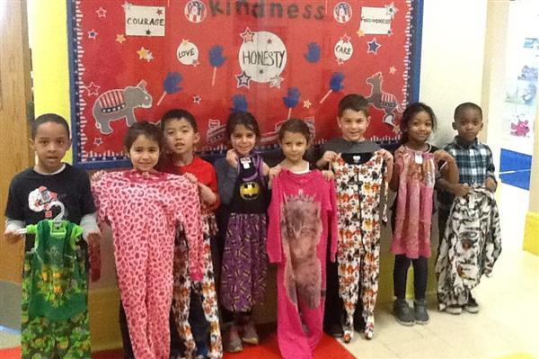 Heights School Pajama Drive